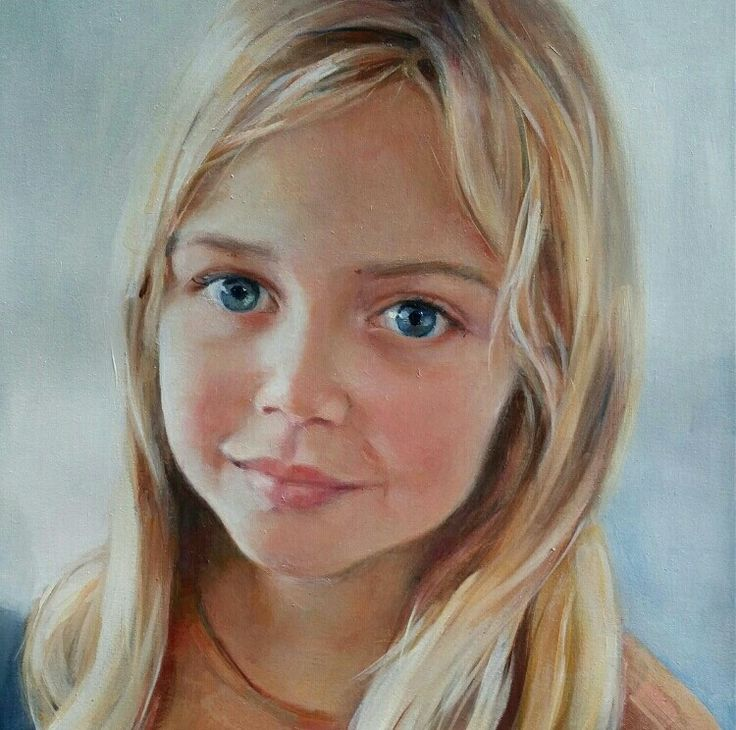 Oil painting, portrait. 25x35cm. Jenni Stringleman