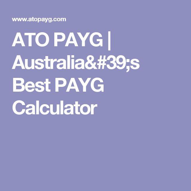 Free tax calculator – atotaxrates. Info.