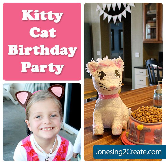Great Cat Party Ideas. Complete With Games, Decorations