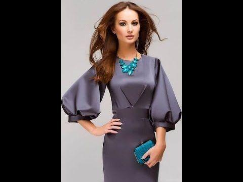 Платье с валанами в рельефах. - YouTube