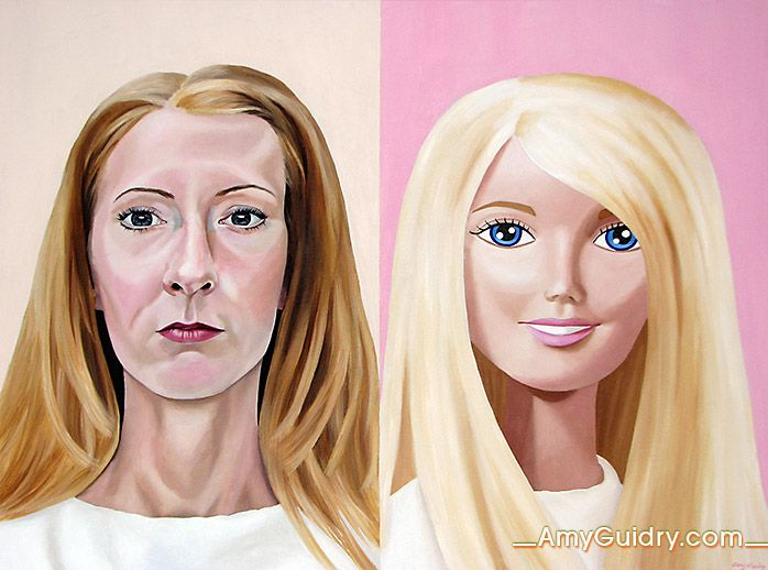 """Before and After - Acrylic on Canvas - 40"""" x 30"""""""
