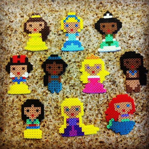 Princess Beads: 1000+ Images About DISNEY PRINCESSES On Pinterest