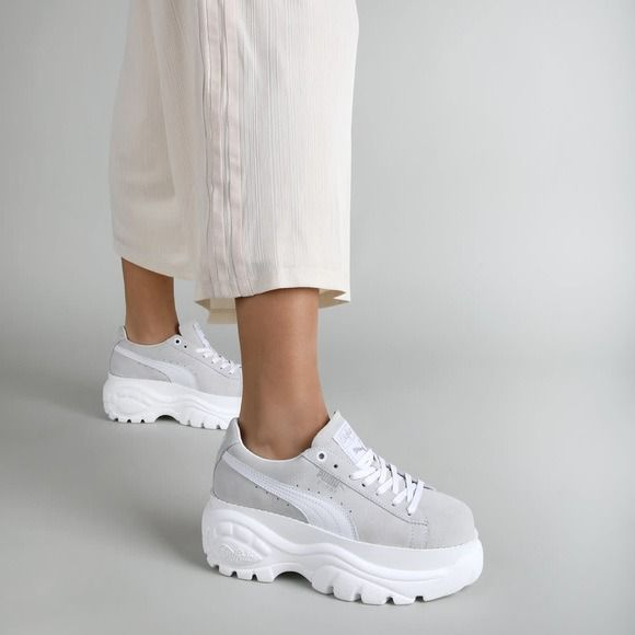 Puma suede, Korean shoes, Buffalo boots