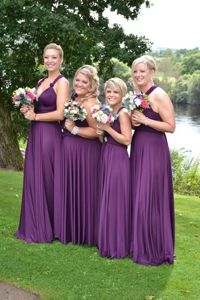 27 best Bridesmaids Dresses images on Pinterest | Flower girls ...