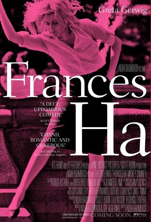 Frances Ha, Movie Poster
