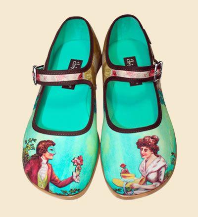 Zapatos Chocolaticas Poesia Cortesana