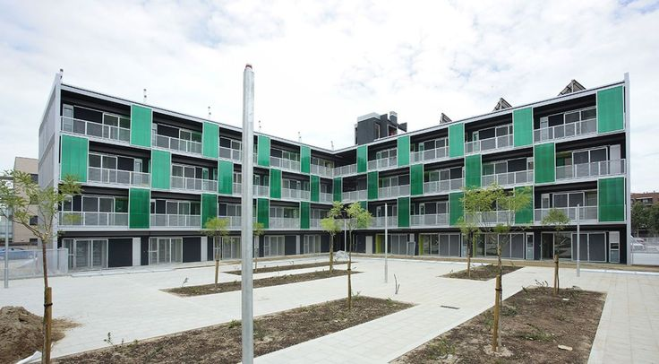 44-units social housing in Pardinyes, Lleida - Google Search