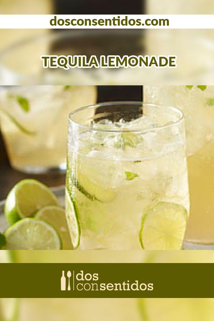 El Tequila Lemonade es una deliciosa y refrescante forma de tomar tequila; el limón, la hierbabuena, un poco e almíbar de azúcar y el tequila son los ingredientes de este delicioso cóctel.Hazlo en una jarra grande y mantenlo refrigerado., esto te hara la vida mas fácil cuando tengas invitados en tu casa, ya que solo tendrás que servirlo en los vasos y decorarlo con una rodaja de limon