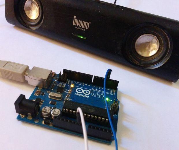 Arduino Tone Generator