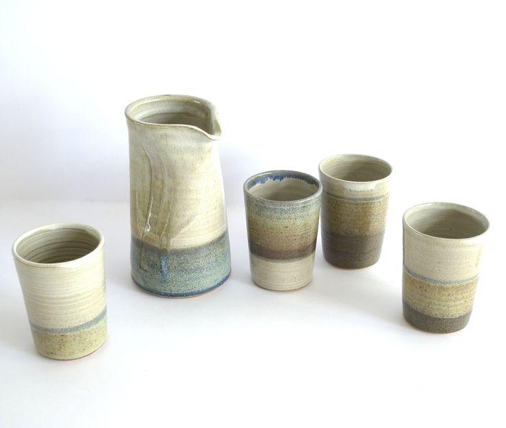 Set of stoneware cups - Scintilla Demi