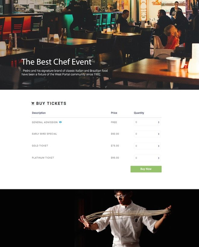 Already have a website you love? Now you can use ImpactFlow's ticket widget to sell tickets on any website or blog! We'll show you how to get set up in minutes!