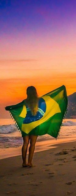 ~Sunset over Rio de Janeiro, Brazil | The House of Beccaria