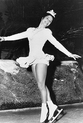 Carol Heiss ~ Olympic Figure Skating Champion 1960