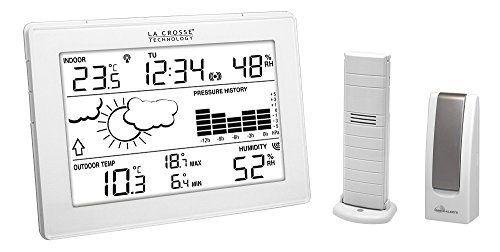 La Crosse Technology MA10006 Station météo complète avec passerelle pour smartphone et tablette système Mobile Alerts – Blanc: Garantie…