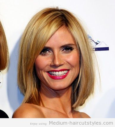 medium length haircuts for women over 45