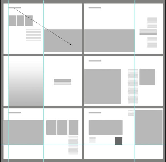 25 best ideas about architecture portfolio layout on for 9 square architecture