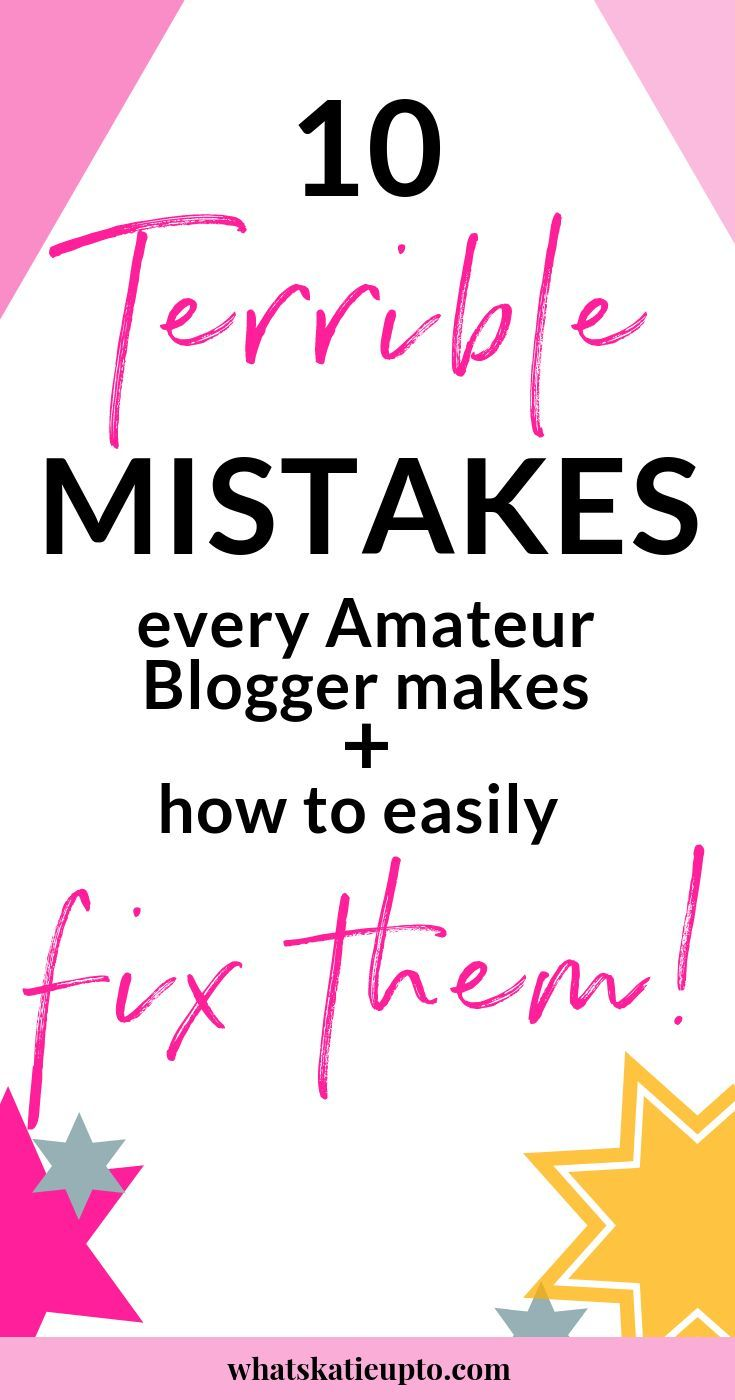 10 Huge Mistakes Amateur Blogs Make And How To Fix Them  E2 97 Be Ef B8 8fblogging Social Media  E2 97 Be Pinterest Numerologia