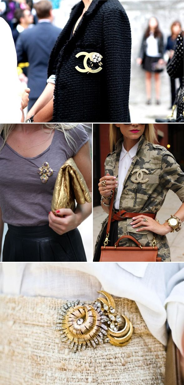 Pins + Accessories + Clutch + Blazer + Army Fatigue Jacket + Glitter + Gold