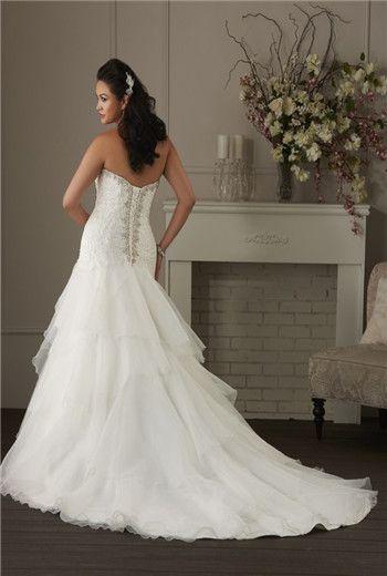 plus size wedding dress #plus #size #fashion