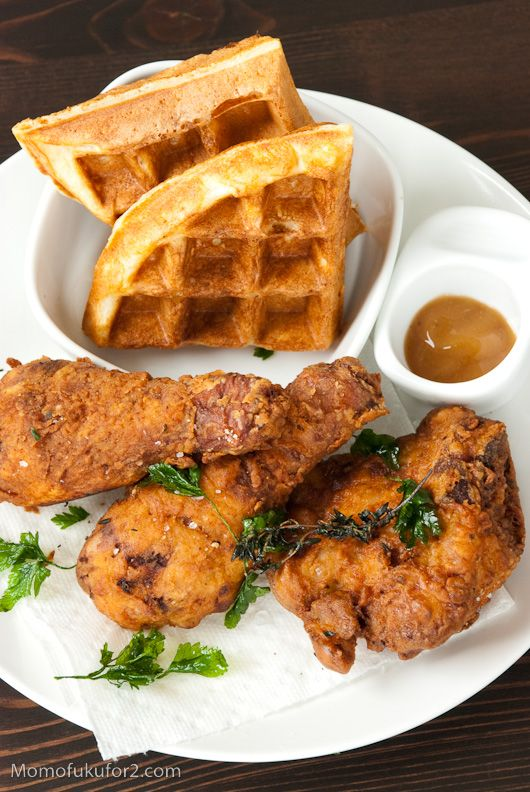 Chicken and waffles :)