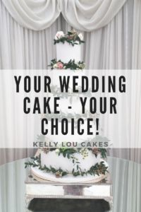 Some points to consider when choosing your dream wedding cake - from Kelly Lou Cakes