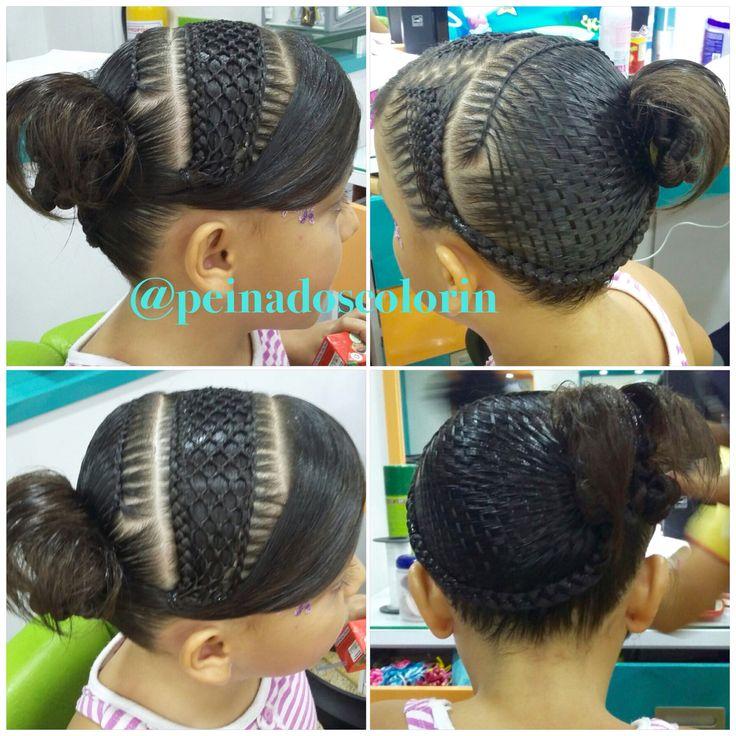 Bellos tejidos de cabello en colorin peluquerías,tejido panal le llamamos a este ello tejido de cabello