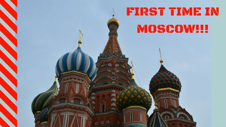 FIRST TIME in Moscow! (Red Square, GUM, Kreml, St. Basil's Cathedral,  G...