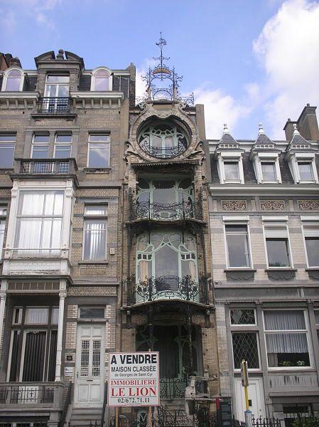 Art Déco, Square Ambiorix, Bruselas