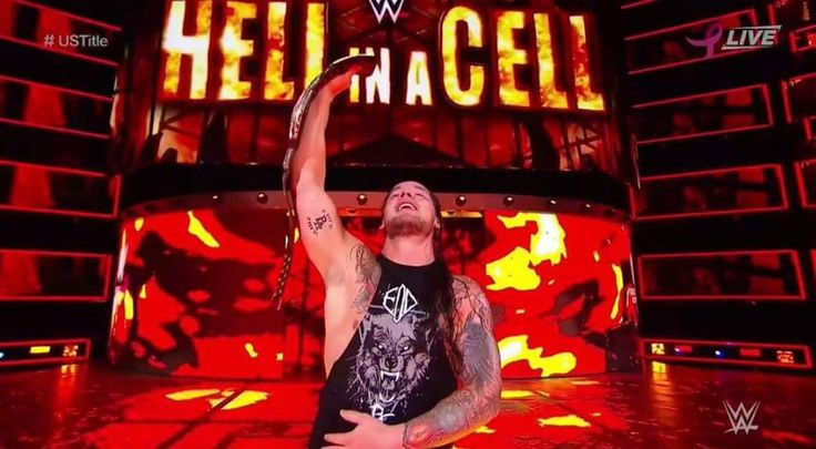Baron Corbin Wins US Title At WWE Hell In A Cell