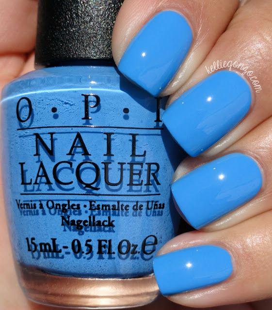 Best 20+ Opi Blue Nail Polish Ideas On Pinterest