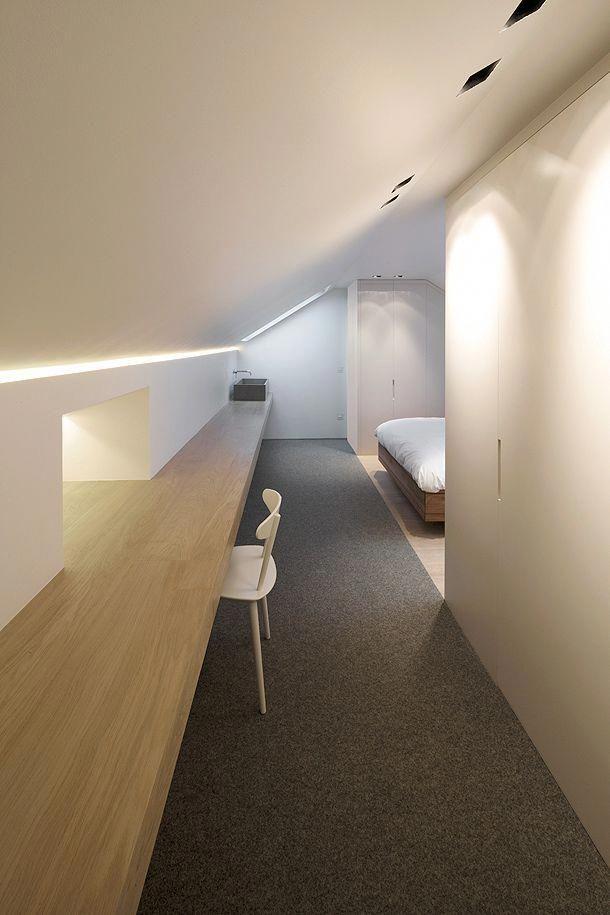 Cape Cod Attic Bathroom Atticbedroomsuite Atticofficesecretdoors In 2020 Attic Remodel Attic House Attic Apartment