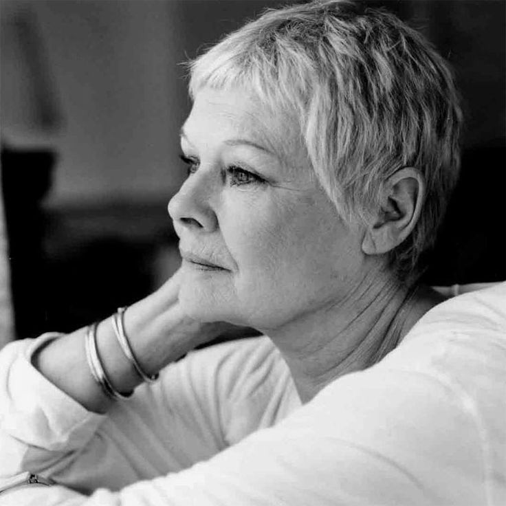 Dame Judi Dench. If I age half as well as this beauty I'll be a extremely happy.