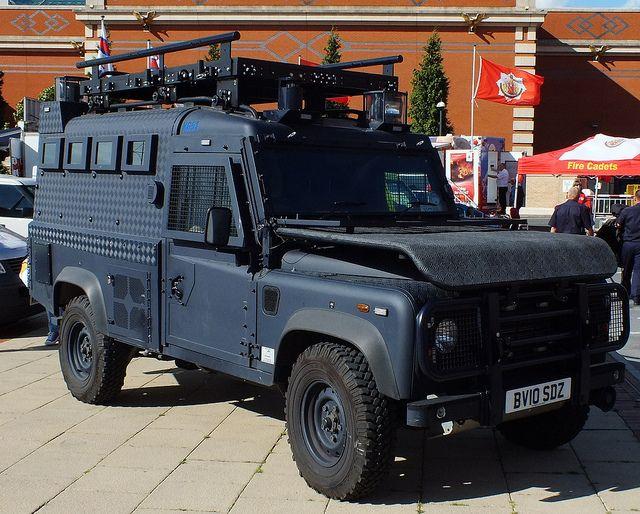 GMP - Armoured Land Rover Defender