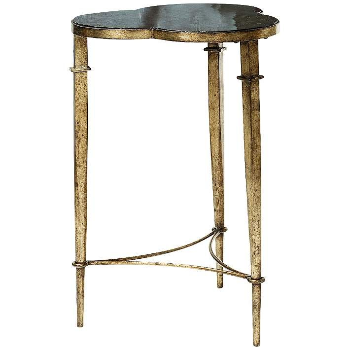 Hammary Hidden Treasures Clover Metal Accent Table - #6M391 | Lamps Plus