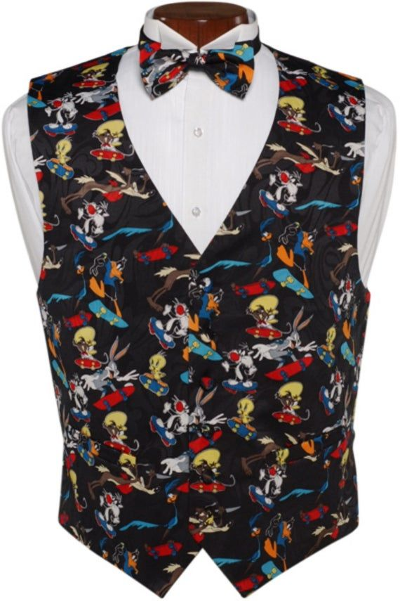 "New Men/'s Formal Vest Tuxedo Waistcoat/_2.5/"" skinny necktie paisley pattern Red"