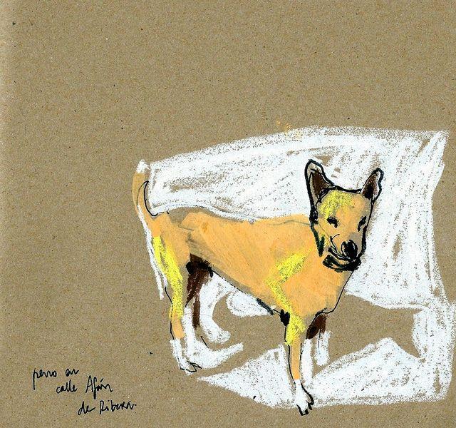 Mi barrio. Perro en Afán de Ribera | Flickr - Photo Sharing!