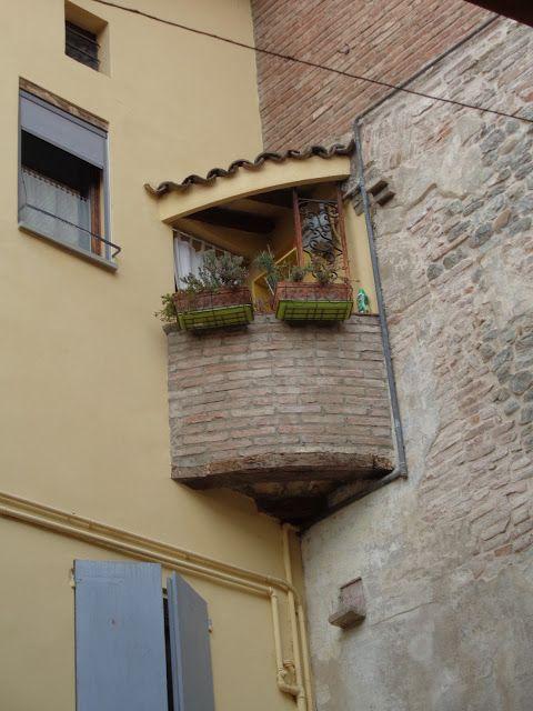 Un balcone a Vignola