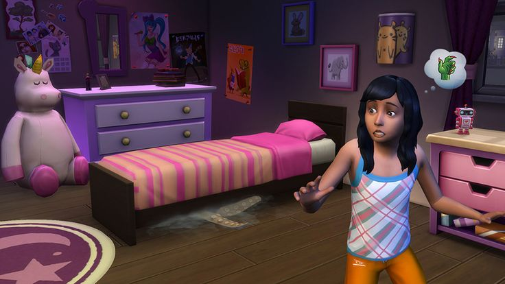 The Sims 4 - There's a Monster Under Your Bed in The Sims 4! No, Really!