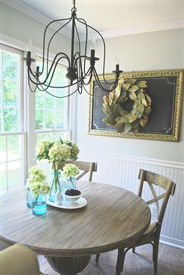 French Farmhouse Breakfast Nook Makeover. Decor And DesignFrench  FarmhouseBreakfast NooksKitchen DiningDining RoomsHouse DesignShuttersPlum