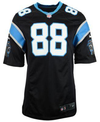 Nike Kids' Greg Olsen Carolina Panthers Game Jersey - Black S