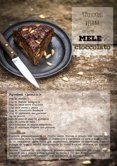 ricetta torta vegana mele cioccolato