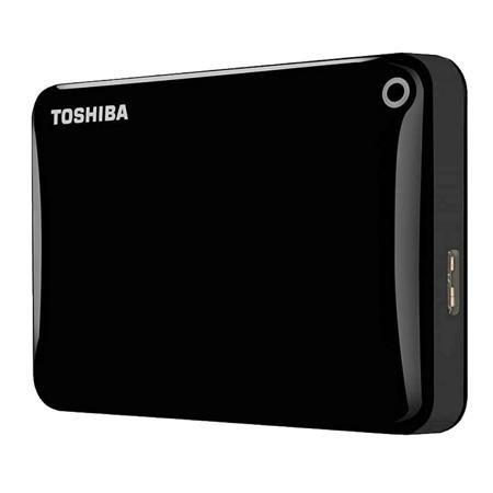 Toshiba Canvio Connect II HDTC810EK3AA 1Тб  — 4359 руб. —  Внешний HDD Toshiba Canvio Connect II [HDTC810EK3AA] является удобным портативным накопителем, предназначенным для подключения к компьютеру как внешнее устройство. Защитный корпус из пластика черного цвета придает внешнему виду элегантности при размерах 109х78х14 мм. Задачей накопителя является подключение, быстрая передача и качественное хранение файлов любых размеров, а также результатов резервного копирования (бэкапов). Внешний…