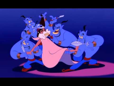 R.I.P. Robin Williams - Thank you for being an unforgettable Genie<3 (Aladdin - Friend Like Me)