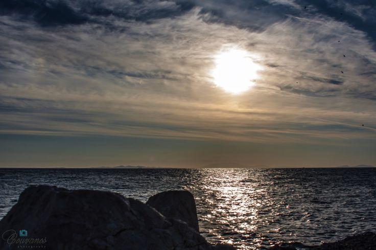 Patra Greece sunset