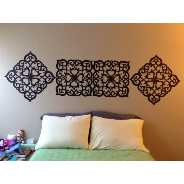 Hanging Decor Cutout Screen Panels That I Used To Tack On