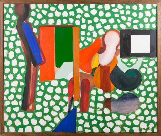 Howard Hodgkin, Whose Paintings Were Coded With Emotion, Dies at 84 - The New York Times