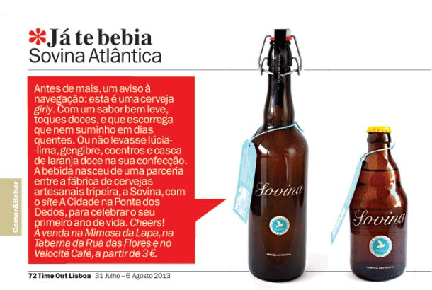 Time Out 2013 - Sovina Atlântica