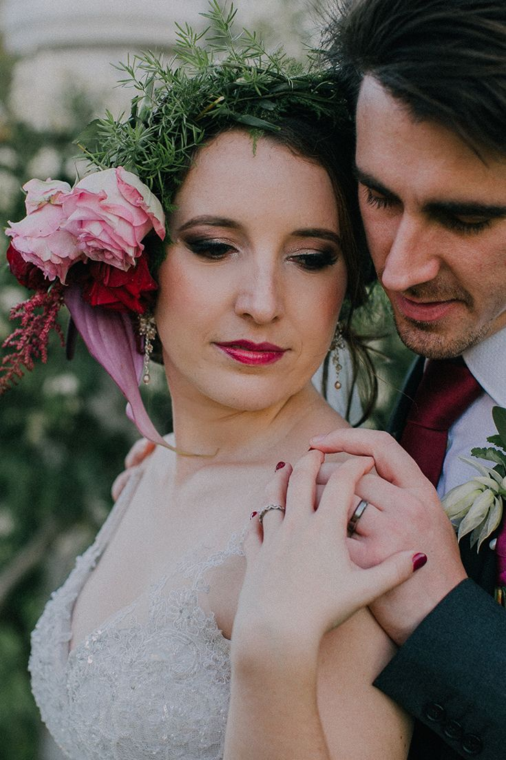 Romantic couple shoot ideas for your wedding day.   Chandré's flawless bridal makeup was done by the very talented makeup artist, Clarita Smit.