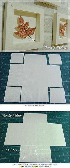 Рамки из бумаги в интерьере.   поделки   Постила