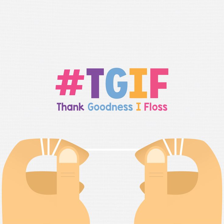 LIKE THIS POST if you're a frequent flosser!